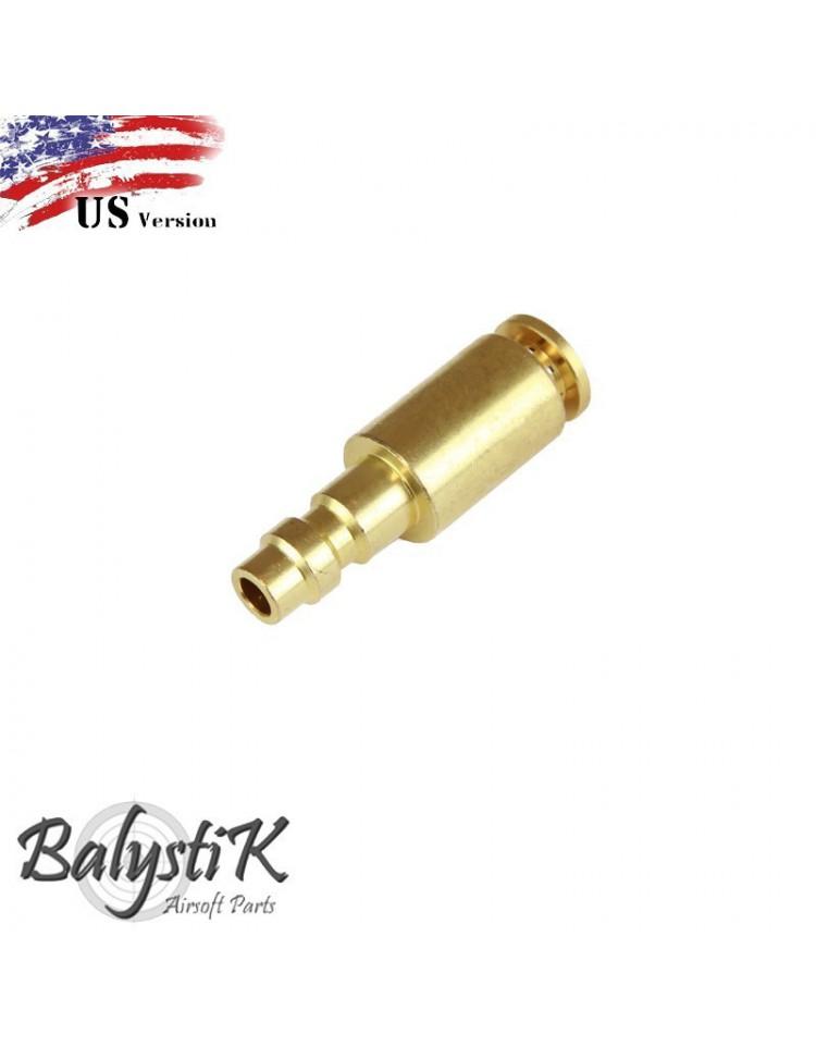 coupleur male avec entrée Macroflex 6mm (version US) - BALYSTIK