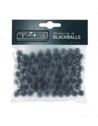 BILLES CAOUTCHOUC C43 T4E BLACKBALLS x100 - UMAREX