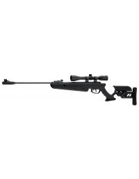 Carabine TG1 Black 5,5mm + lunette de visée 4X40 19,9 joule - SWISS ARMS