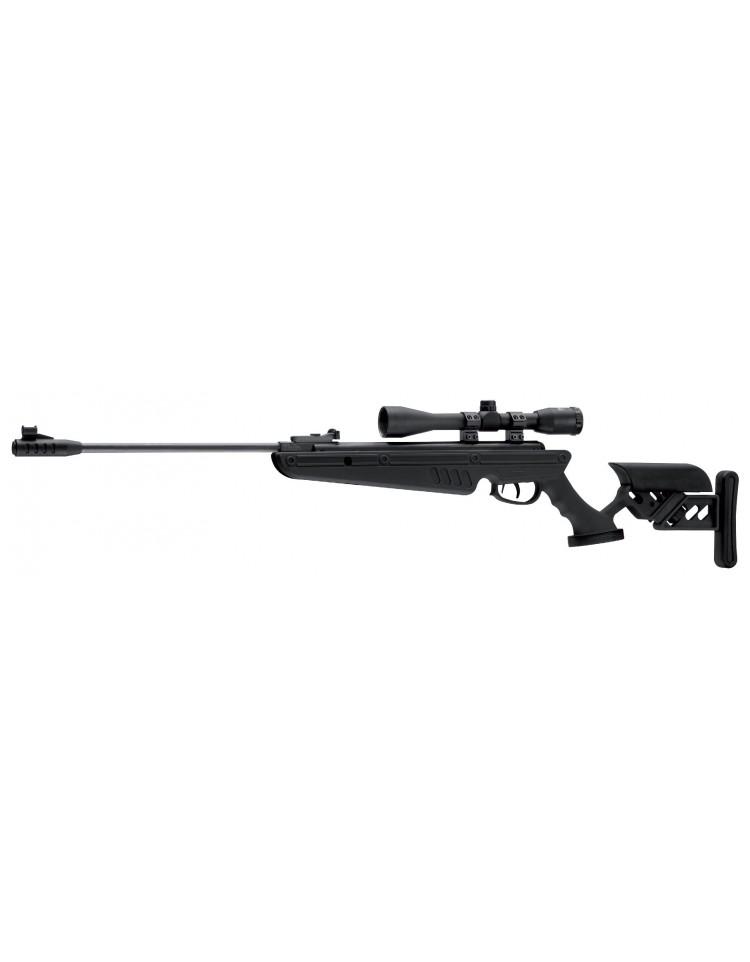 Carabine TG1 Black 5,5mm + lunette de visée 4X40 - SWISS ARMS