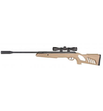 Carabine TAC1 Tan 5,5mm + lunette de visée 4X40 19,5 joule - SWISS ARMS