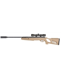 Carabine TAC1 Tan 5,5mm + lunette de visée 4X32 19,5 joule - SWISS ARMS