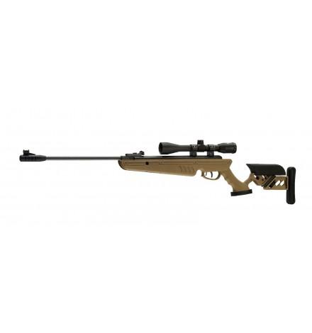 Carabine TG1 Tan 5,5mm + lunette de visée 4X40 - SWISS ARMS
