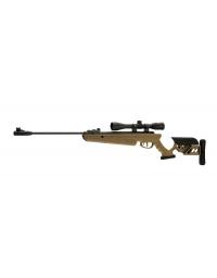Carabine TG1 Tan 5,5mm + lunette de visée 4X40 19,5 joule - SWISS ARMS