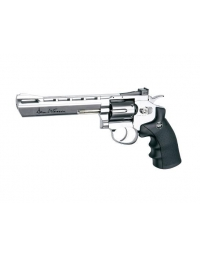 Airgun DAN WESSON 6 ' CO2 4,5MM 3joule chromé - ASG