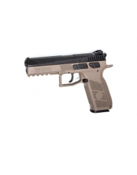 Airgun CZ P-09 Co2 blowback BK/FDE 4.5mm 3,7joule - ASG