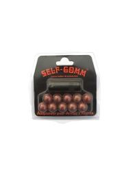 Adaptateur pour armes d'alarme pour Chiappa + 10 projectiles - Self Gomm 10mm