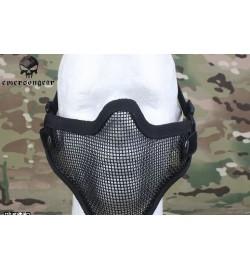 Masque grillagé noir - EMERSON