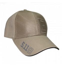 Casquette 5.11 Ball Cap with 3D Target logo tan