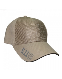 Casquette 5.11 Ball Cap with 3D Target logo tan