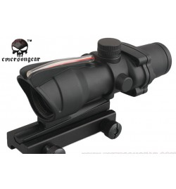 ACOG noir point rouge/vert 4x32 - EMERSON