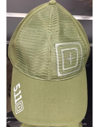Casquette 5.11 Ball Cap with 3D Target logo OD
