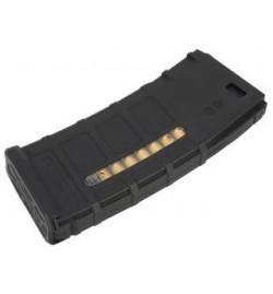 Chargeur polymère M4/M16 Mid-cap 150 billes noir - PTS