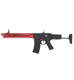 Avalon LEOPARD CARBINE RED avec mallette de transport - VFC