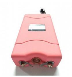 Electrochoc 7800KV AVEC LAMPE LED INTEGREE ET CORDON DE SECURITE ROSE