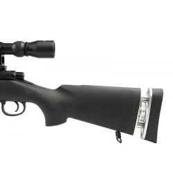 Sniper MB4405D Noir avec lunette 3-9x40 et bipied - WELL