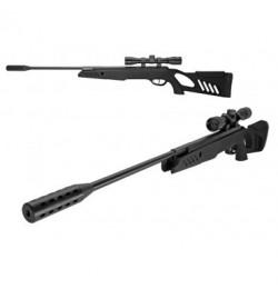 Carabine TAC1 Noir 4,5mm + lunette de visée 4X32 19,5 joule - SWISS ARMS