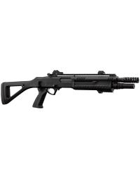 Fusil à pompe FABARM STF/12-11 COMPACT CO2 3 ou 6 shots noir 0,95j - BO MANUFACTURE