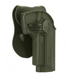 Holster M92 noir droitier - ASG