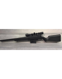 Sniper STRIKER AS01 Noir avec lunette 3-9x40, canon de précision et ressort M135 - ARES