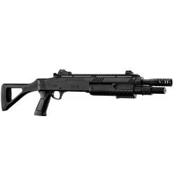 Fusil à pompe FABARM STF/12-11 COMPACT spring 3 billes noir 0,8j - BO MANUFACTURE