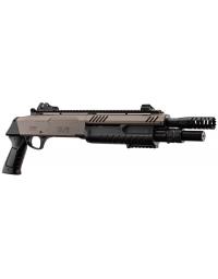 Fusil à pompe FABARM STF/12-11 SHORT spring 3 billes tan 0,8j - BO MANUFACTURE