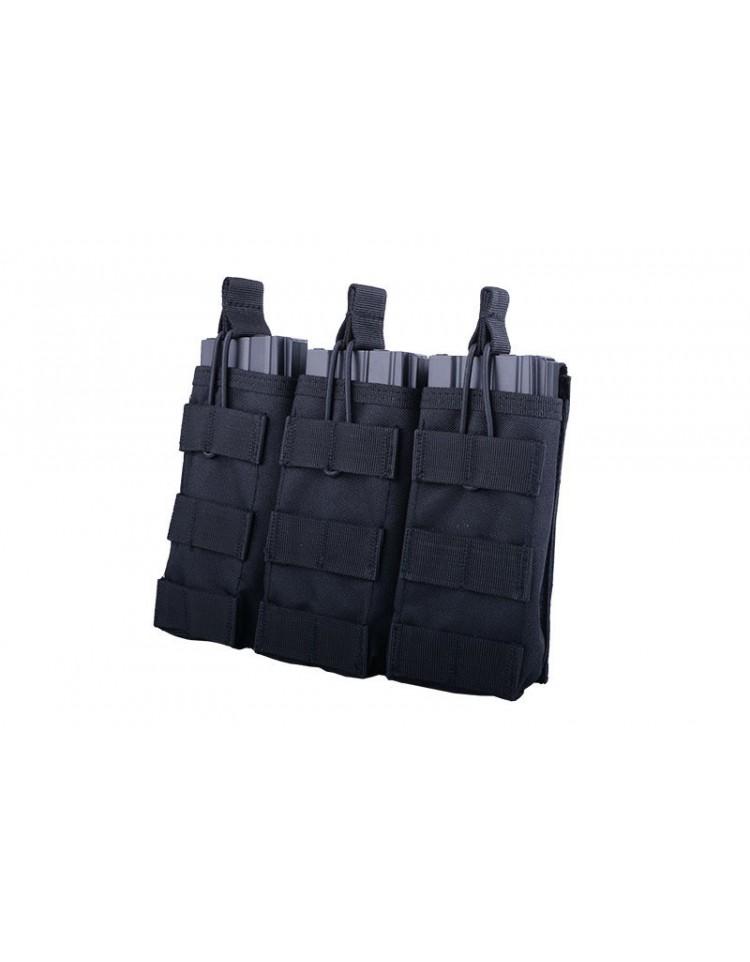 Triple Poches M4/AK/G36 noir - GFC
