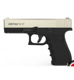 Retay MOD 17 9mm P.A.K chromé mate balle à blanc - RETAY