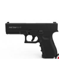 Retay MOD 17 9mm P.A.K noir balle à blanc - RETAY