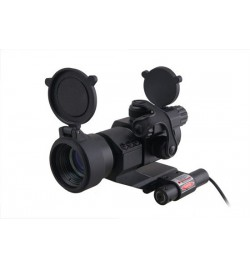 Viseur point rouge RD30 Military Style avec laser - GFC