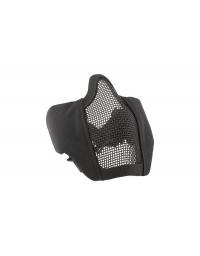 Masque grillagé  NOIR avec attache pour casque - Ultimate Tactical