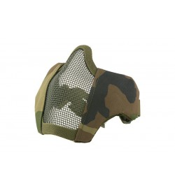 Masque grillagé avec attache pour casque - Ultimate Tactical