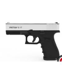 Retay MOD 17 9mm P.A.K nickel balle à blanc - RETAY