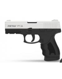Retay PT24 9mm P.A.K chromé mat balle à blanc - RETAY