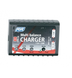 Chargeur batterie LIPO/NIMH/LIFE - ASG