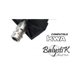 Valve HPA sans perçage pour chargeur KWA (Version EU) - BALYSTIK