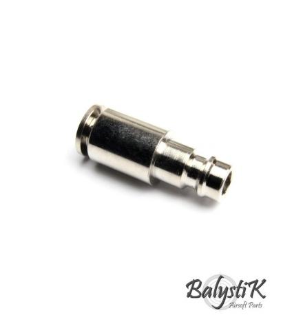 coupleur male avec entrée Macroflex 6mm (version EU) - BALYSTIK