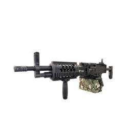 LMG Light Machine Gun Full Métal AEG 1.1J - CLASSIC ARMY