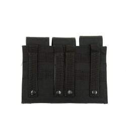 Triple Poches chargeurs type M4/M16 - OLIVE