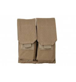 Double Poches chargeurs type M4/M16 tan - GFC