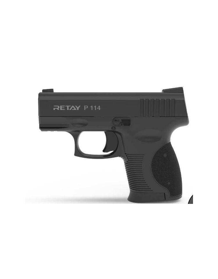 Retay P114 9mm P.A.K noir balle à blanc - RETAY